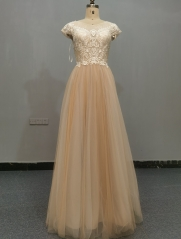 9081 - FREE SHIPPING WEDDING DRESS HEAVRY LACE