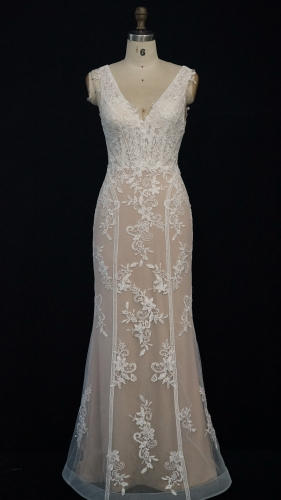 9202 - Free shipping Wedding Dress Evening Dress
